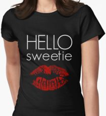 Hello, Sweetie Women's Fitted T-Shirt