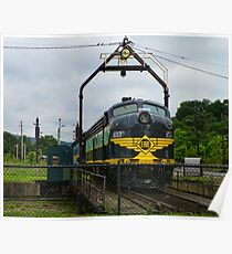 Erie Railroad Turntable Poster
