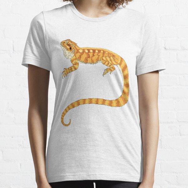 bearded dragon watercolour  Essential T-Shirt