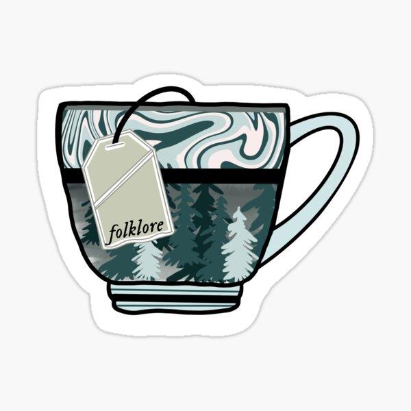Taylor Swift Tea Sticker