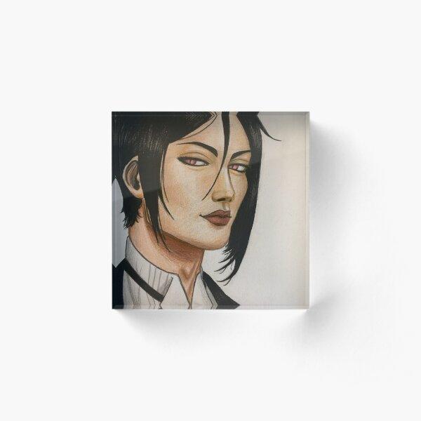 Realistic Sebastian Michaelis Acrylic Block