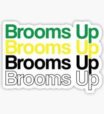 Brooms Up Sticker