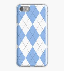 North Carolina Argyle iPhone Case/Skin