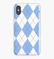 North Carolina Argyle iPhone Case