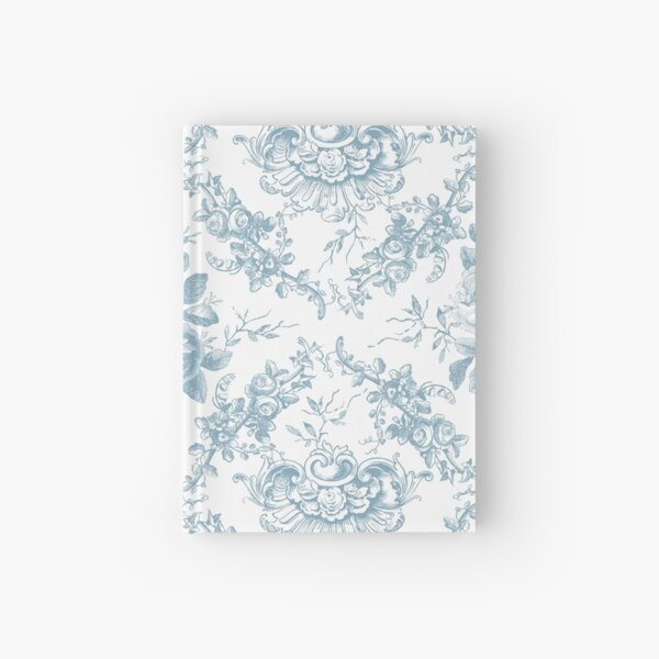 Blue Rose Toile Hardcover Journal