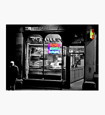 Neon Takeaway Photographic Print