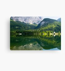 Lake Grundl Canvas Print