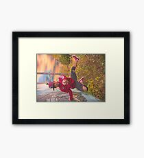 Breaking Illusions Framed Print
