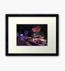 Shape Shifting Through Music. Framed Print