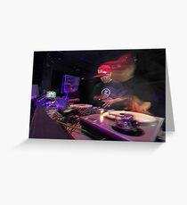 Shape Shifting Through Music. Greeting Card