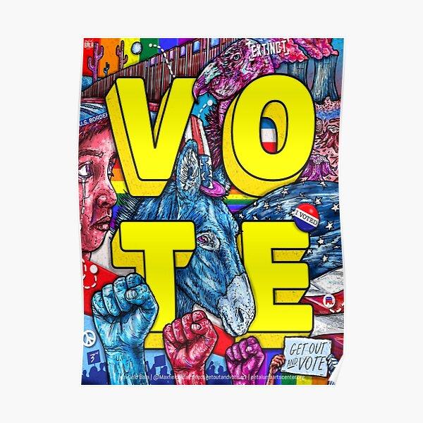 Vote | Maxfield Bala Poster