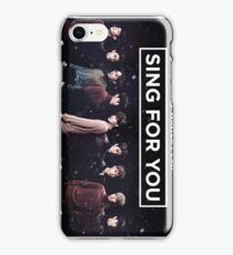 EXO 'Sing For You' Winter Night Edition iPhone Case/Skin