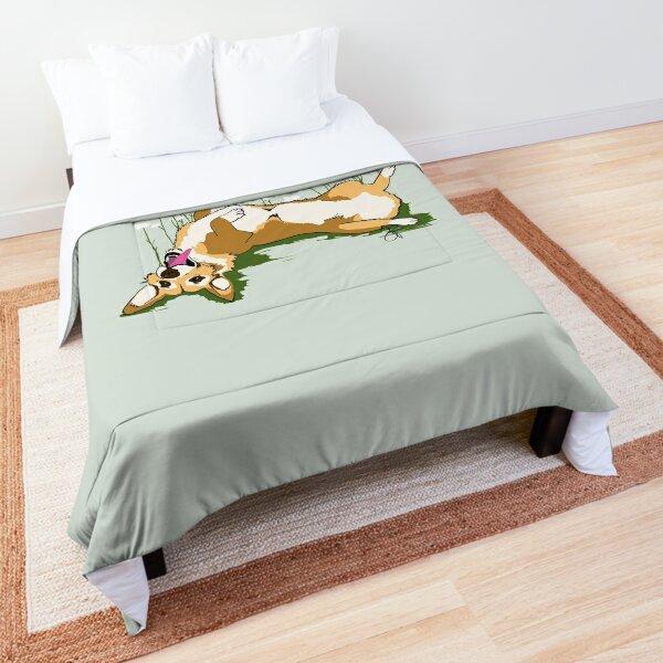 Happy As A Corgi Comforter