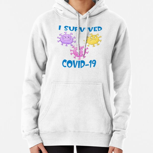 I Survived Covid-19 Pullover Hoodie