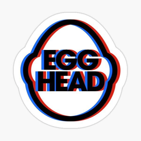 Egghead Logo Anaglyph Sticker