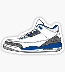 J3 True Blue Sticker