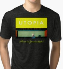 Utopia - T-Shirt - Where Is Jessica Hyde? Tri-blend T-Shirt