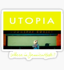 Utopia - T-Shirt - Where Is Jessica Hyde? Sticker