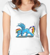 Rainbow Dash Women's Fitted Scoop T-Shirt
