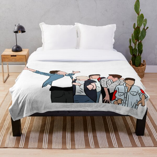 One Direction Throw Blanket