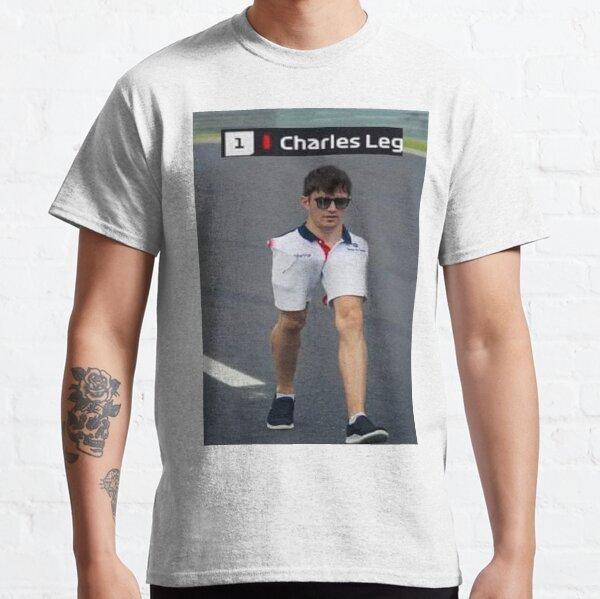 Charles Leg Leclerc Ferrari Sauber Classic T-Shirt