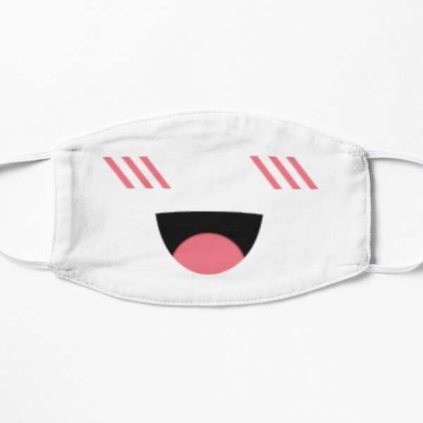 Super Happy Face Roblox Mask Flat Mask
