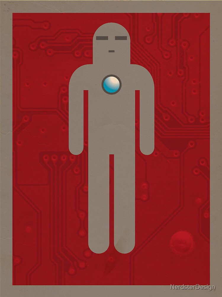 Iron Men's Room Mark I by NerdsterDesign
