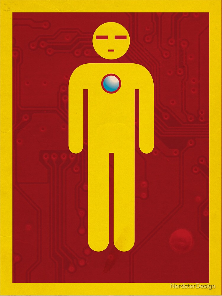 Iron Men's Room Mark II by NerdsterDesign