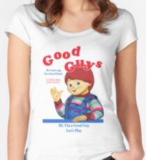 Good Guys Women's Fitted Scoop T-Shirt