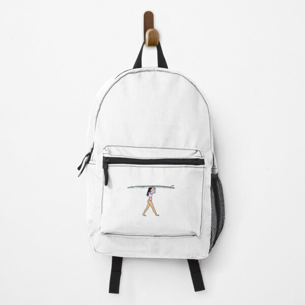 surfboard girl Backpack