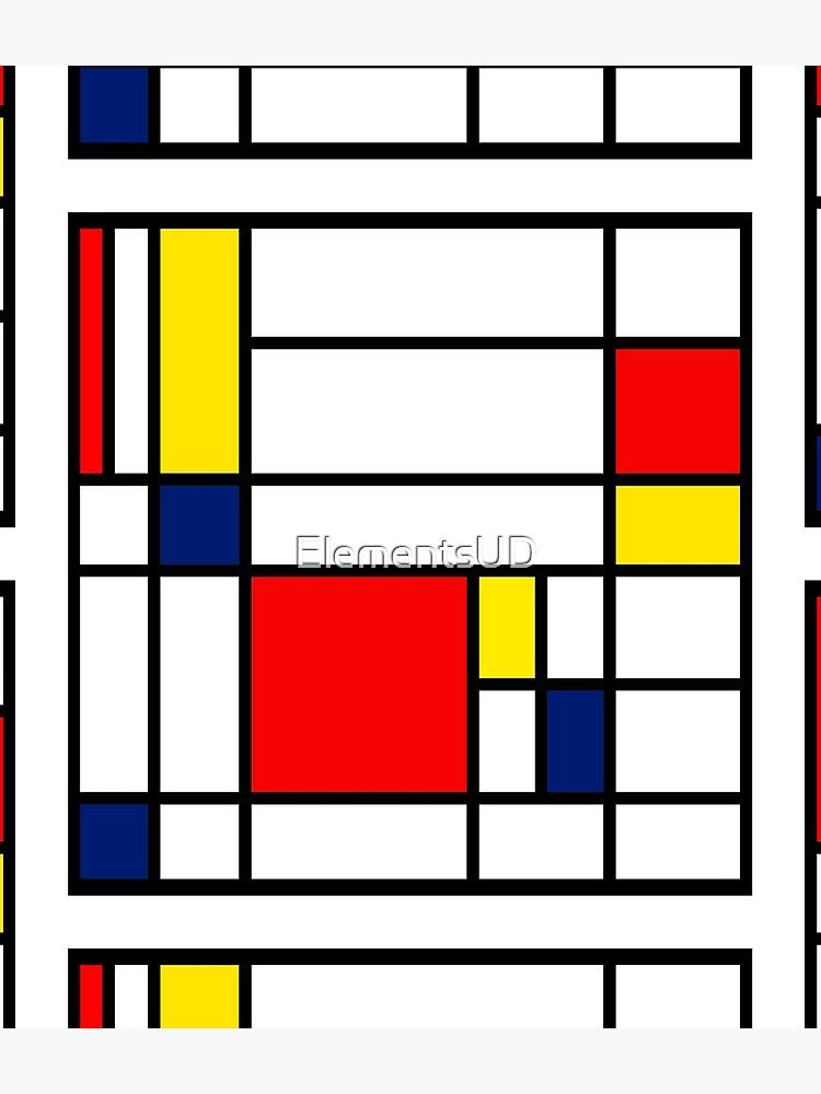 Mondrian Composition by ElementsUD