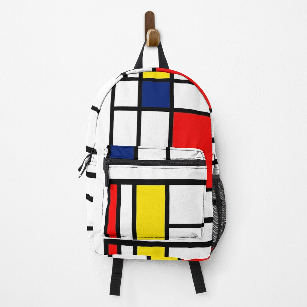 Mondrian Composition Backpack