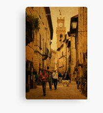 Main Street-Tuscany Canvas Print