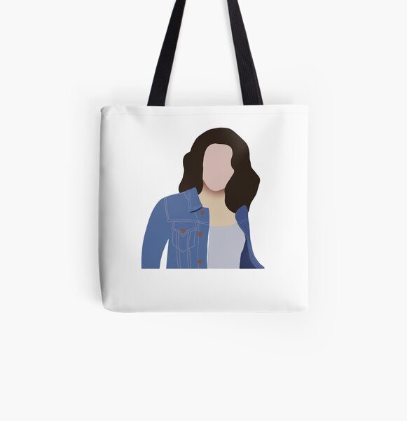 Dragonfly Inn Gilmore Girls Inspired Light Weight Tote Bag Design 3 Stars Hollow CT Lorelei Coffee Addict