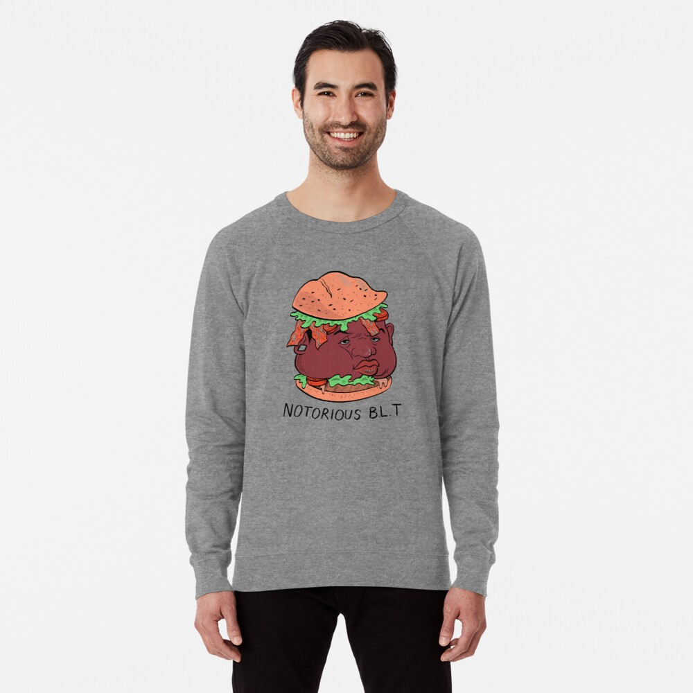 Berüchtigte BLT (PUN PANTRY) Leichter Pullover