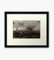 The Tour Gothic Surrealism Framed Print