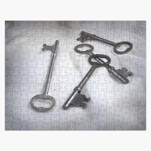 Scattered Keys Jigsaw Puzzle