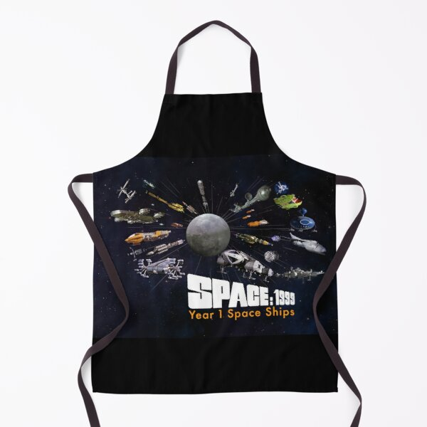 SPACE: 1999 YEAR 1 SPACE SHIPS Apron