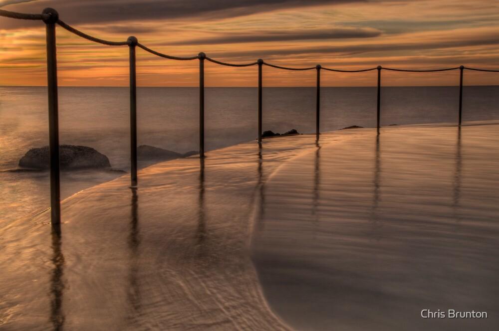 Bronte Beach rock pool by Chris Brunton