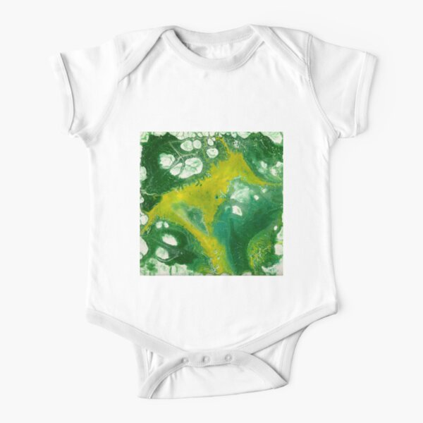 The Green Meanie Short Sleeve Baby One-Piece