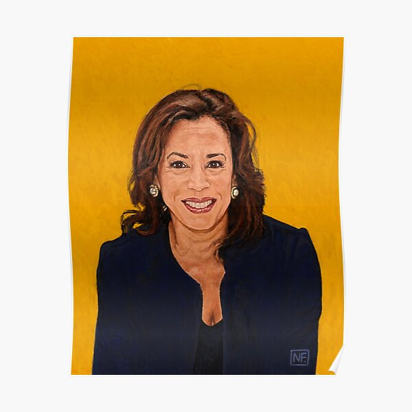 Senator Kamala Harris, the 2020 Democratic nominee for Vice President Poster