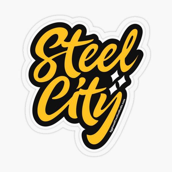 Steel City Transparent Sticker