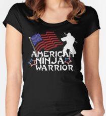 American Ninja Warrior T-Shirt Women's Fitted Scoop T-Shirt