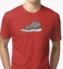 J11 Cool Grey New Tri-blend T-Shirt