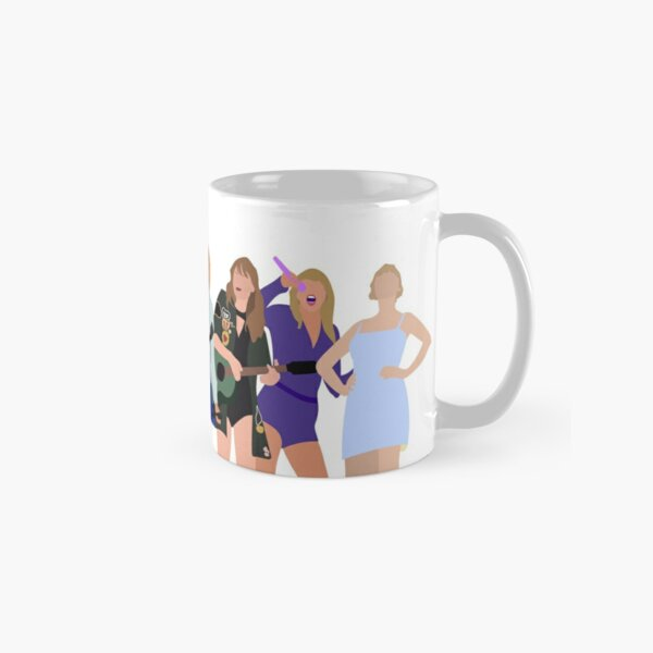 taylor tour eras UPDATED WITH FOLKLORE Classic Mug