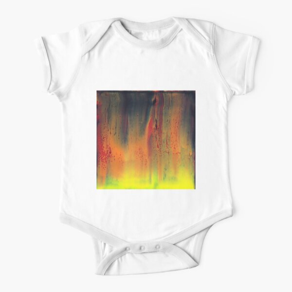 Sheet of Flame Short Sleeve Baby One-Piece