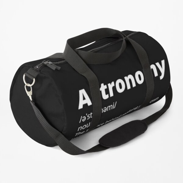 Funny Perfect astronomy  Duffle Bag