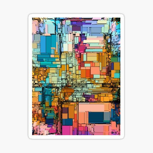 Tiled Sky - A Generative Artwork Sticker