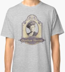 Downton Abbey Inspired - Lady Violet - Grantham Institute - Lady Violet Finishing School - Dowager's Etiquette Teachings Classic T-Shirt