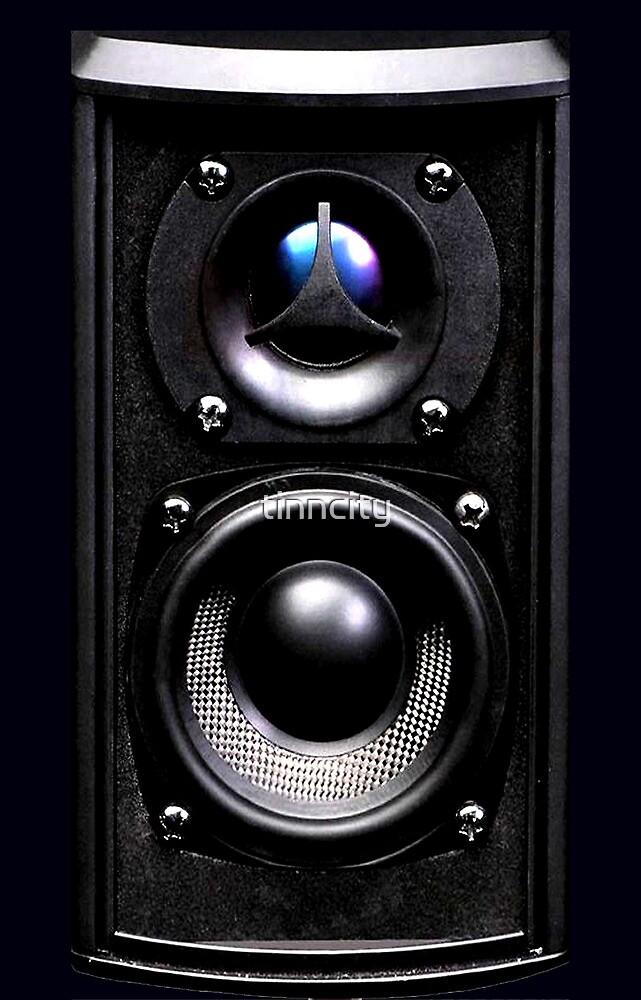 black speaker by tinncity